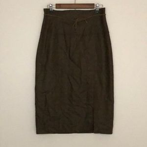 Vintage Hennes Collection Wool Pencil Skirt
